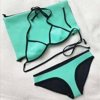Triangl Chloe Bikini - Miami Mint