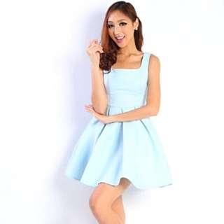 BNWT Lara J Blanc Square Dress