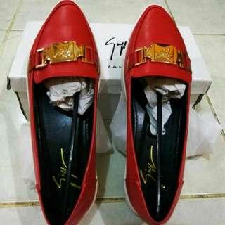 Giuseppe zanotti shoes Red Sepatu