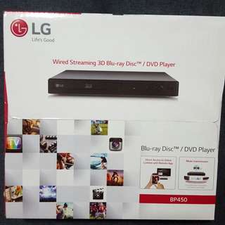 BN LG Wired Streaming 3D Blue Ray/DVD BP450