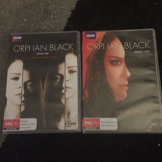 Orphan Black Series One And Two