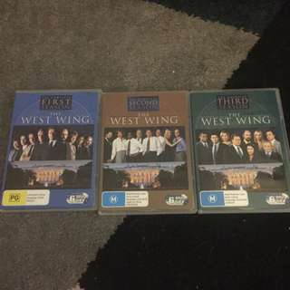 The West Wing Season 1 - 3 DVDs