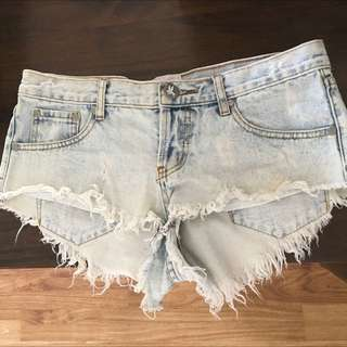 One Teaspoon Shorts, Size 28, $50
