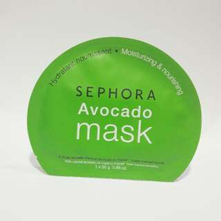 SEPHORA Avocado Mask Sheet (25 Gram)