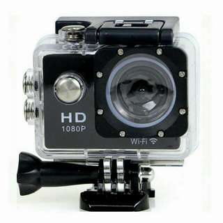 New WiFi Extreme Sports Cameras Action Camera  Full HD 1080P Wireless Diving Waterproof Underwater 30m Cam MINI Sport HD DV
