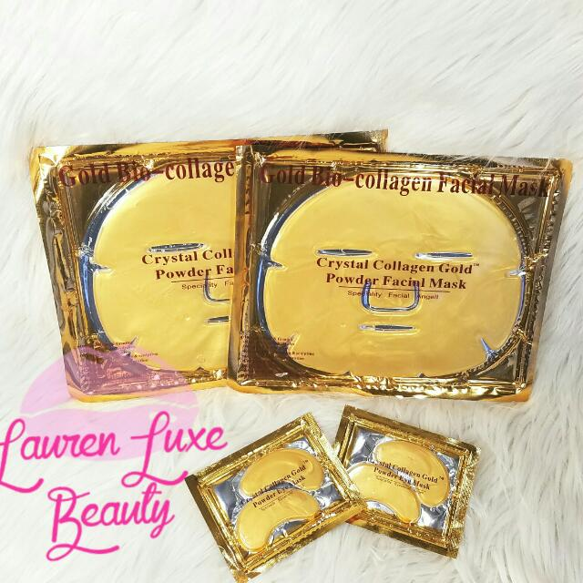24k Gold Facial Collagen Mask