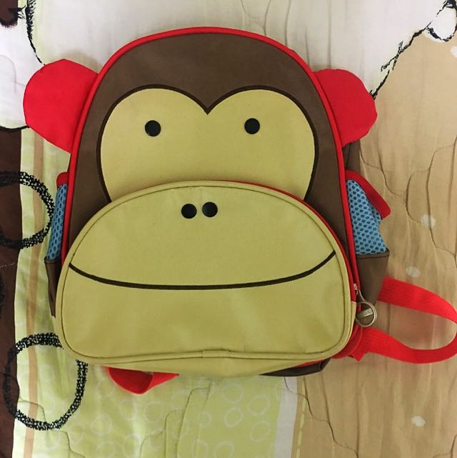 可愛猴子後包包