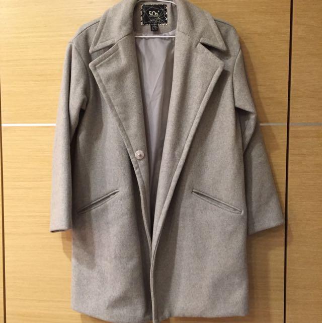 磨毛西裝外套(極新)