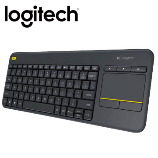 羅技 無線觸控鍵盤 K400 plus