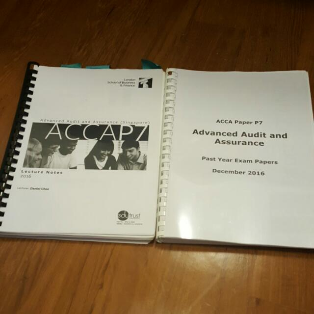ACCA P7 LSBF LECTURE NOTES AND PAST YEAR EXAMS.