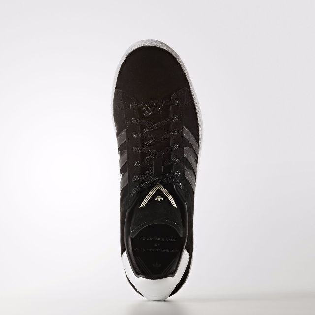purchase cheap 0df4d 3773a adidas Originals x White Mountaineering Campus 80s (Black), Mens Fashion,  Footwear, Sneakers on Carousell