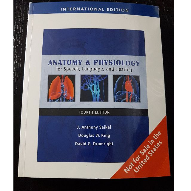 Anatomy & Physiology for Speech, Language and Hearing by Seikel ...