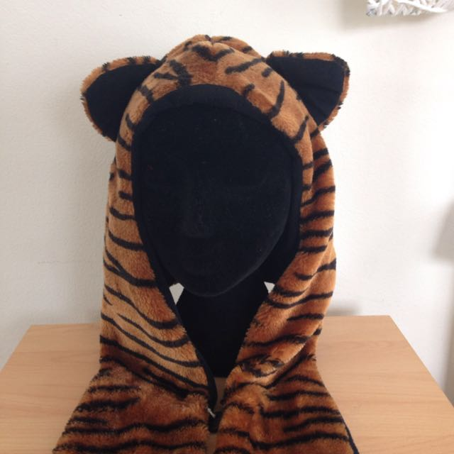 """*HUGE DISCOUNT* Animal Print Hat With """"arms"""""""