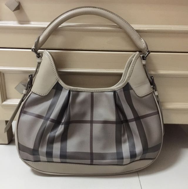 Authentic Hobo Bag Burberry Prorsum