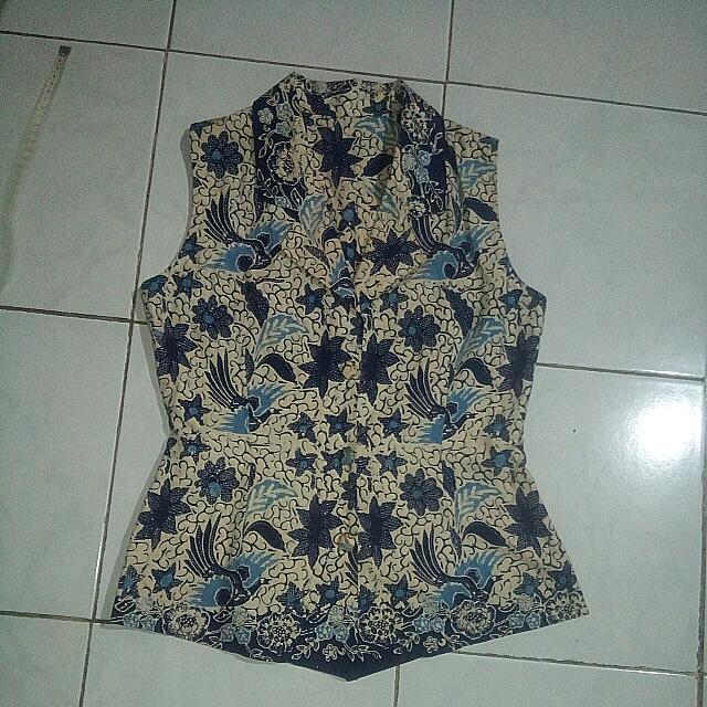 Batik Vest
