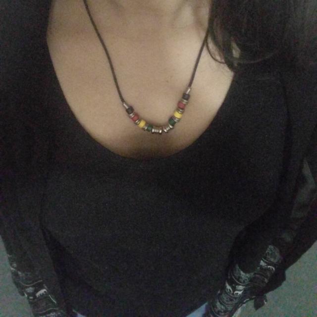 Beaded necklace/ neck piece.