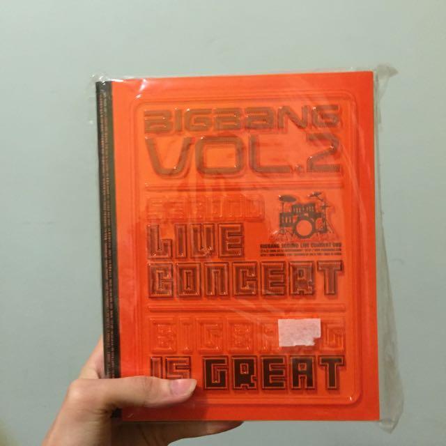 Bigbang Vol2.second 演唱會DVD