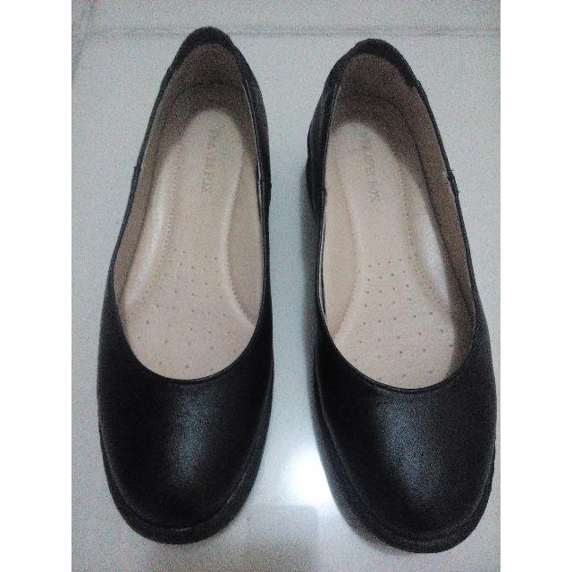 black slip on doll shoes