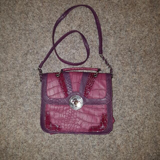 Bluebird Pink Handbag