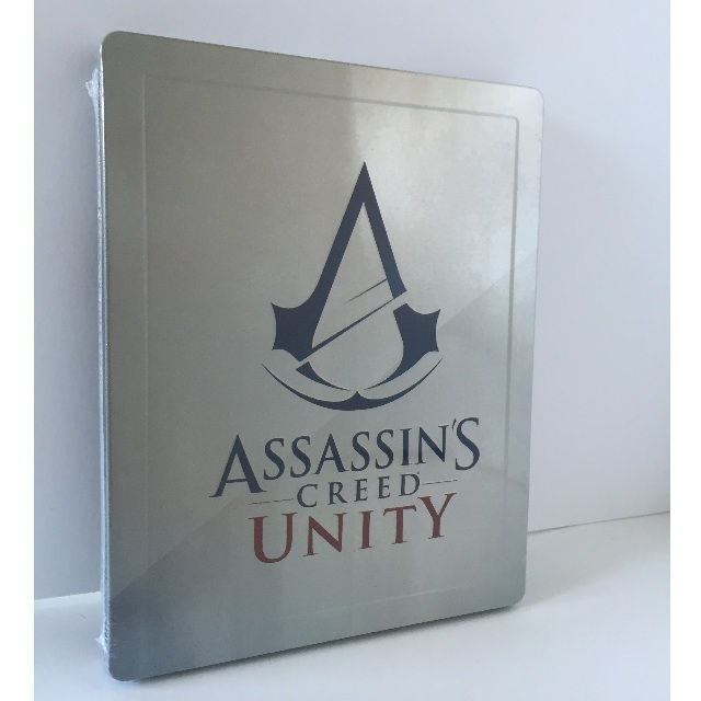 BRAND NEW Assassins Creed Unity w/Bonus Steelbook!