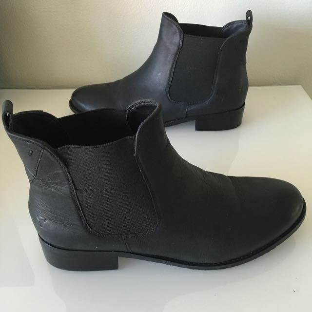 Brand New! Windsorsmith Boots - Hermione Black 38