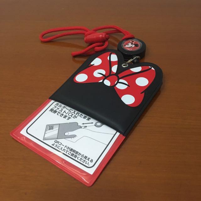 Cardholder c/w Retractable Neck Hanger