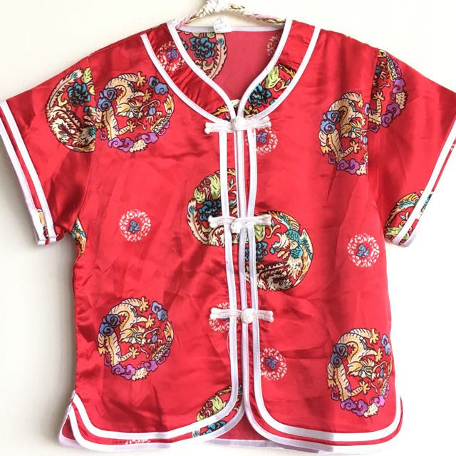 Cheongsam Baby Boy One set