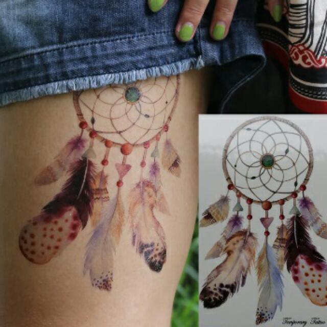 Dreamcatcher Temporary Tattoo