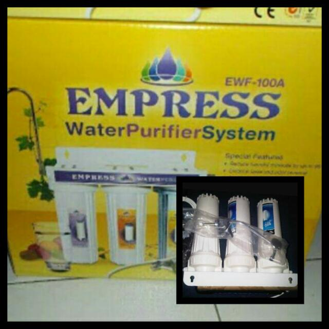 EMPRESS Water Filter System