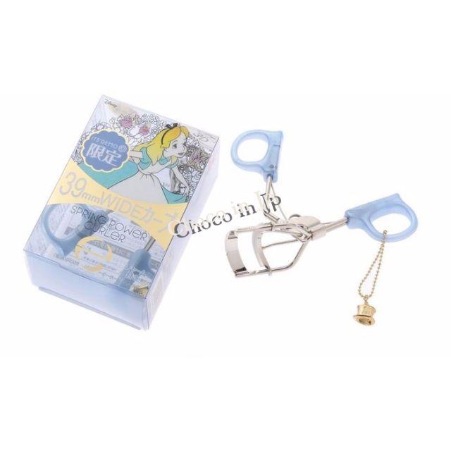 excel超廣角彈力睫毛夾39MM 日本愛麗絲Alice限定聯名款 粉紅/藍色現貨