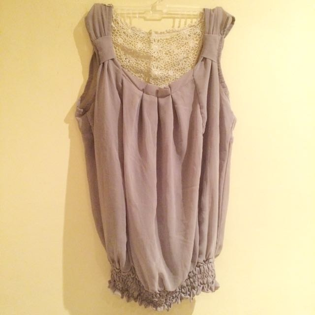Flowy Sleveless Formal Top