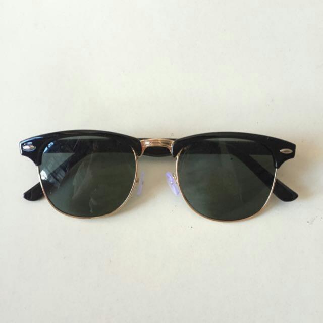 Free ONGKIR! Kacamata Fashion Black Glasses