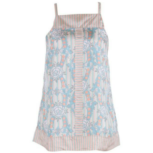 French Connection - Cross Strap Floral Sleeveless