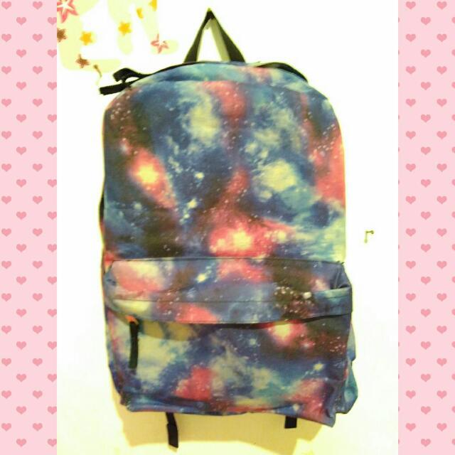 #TisGratis Galaxy Bagpack