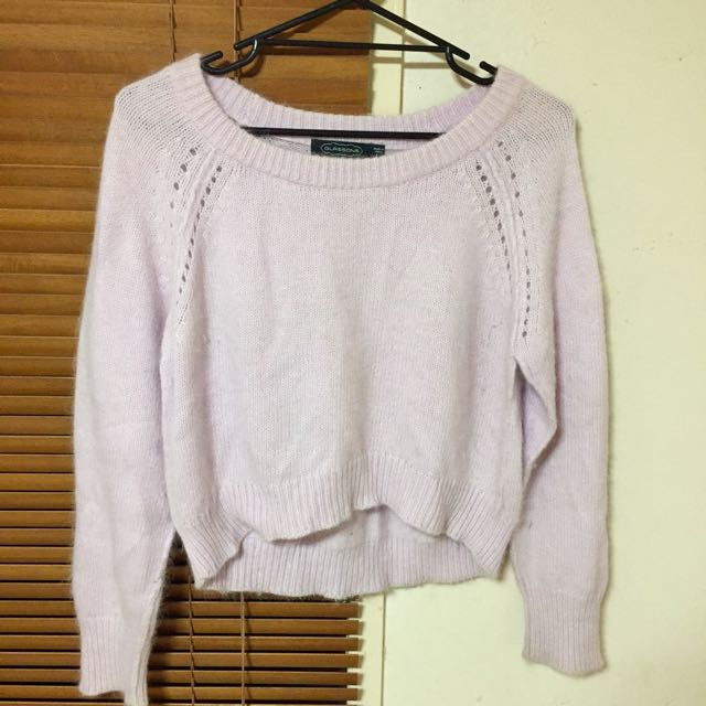 GLASSONS | Pink Sweater