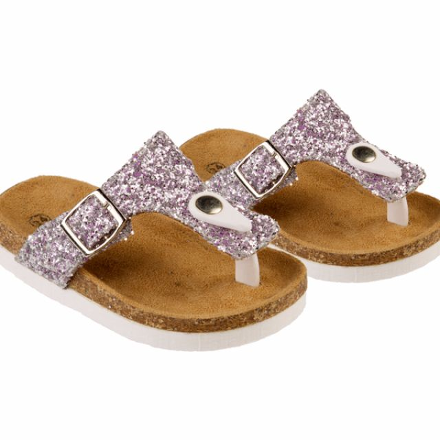 Glitter sandals - Sizes 25 and 26
