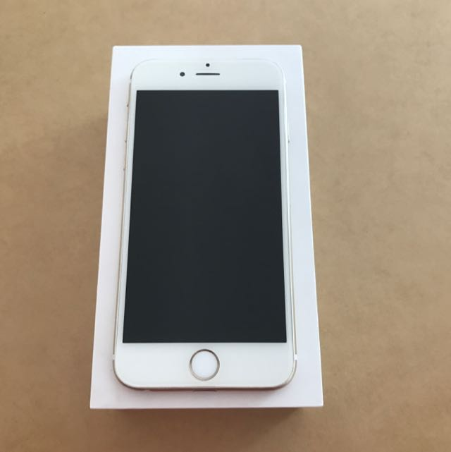 16G Gold iPhone 6