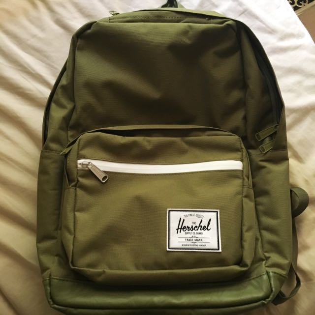 Herschel Khaki Backpack AUTHENTIC