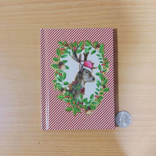 歐洲帶回H&M限量聖誕筆記本