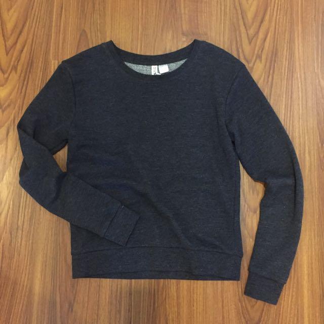 H&M Dark Grey Sweater