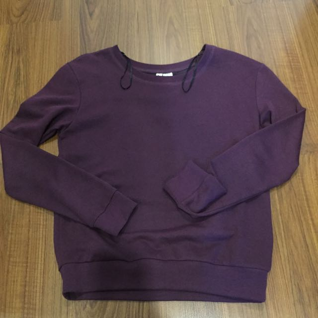 H&M Red Violet Sweater