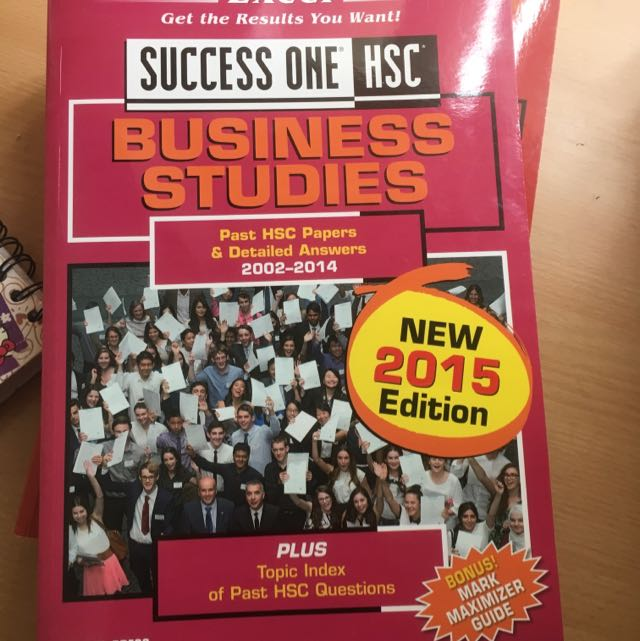 HSC SUCCESS ONE BUSINESS STUDIES, HSC papers & Answers