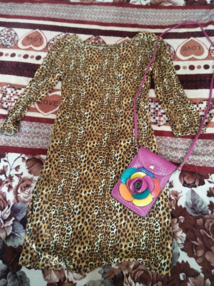 Leopard Sexy Bod Con Dress