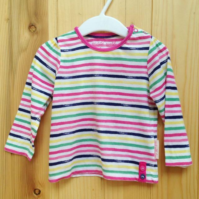 Mothercare Baby Tshirt - Strip
