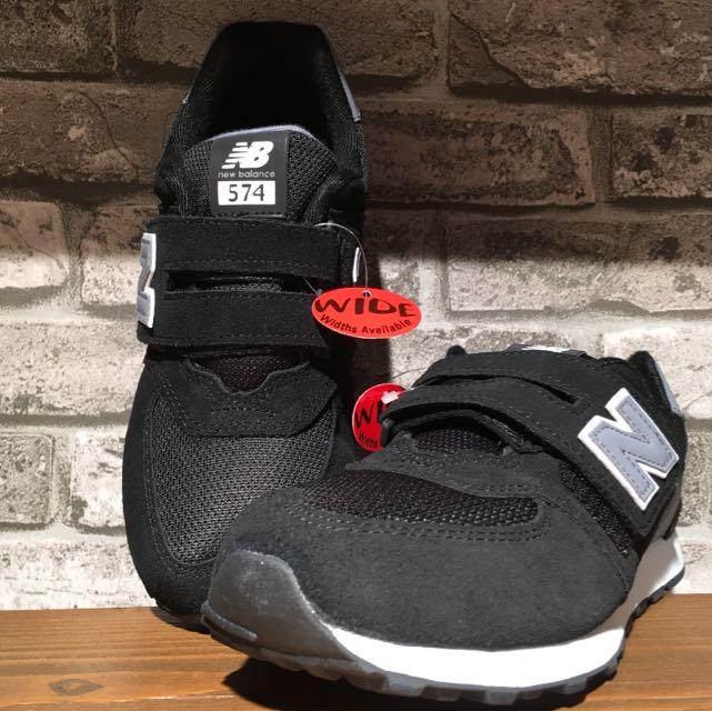 NB 黑色 大童鞋