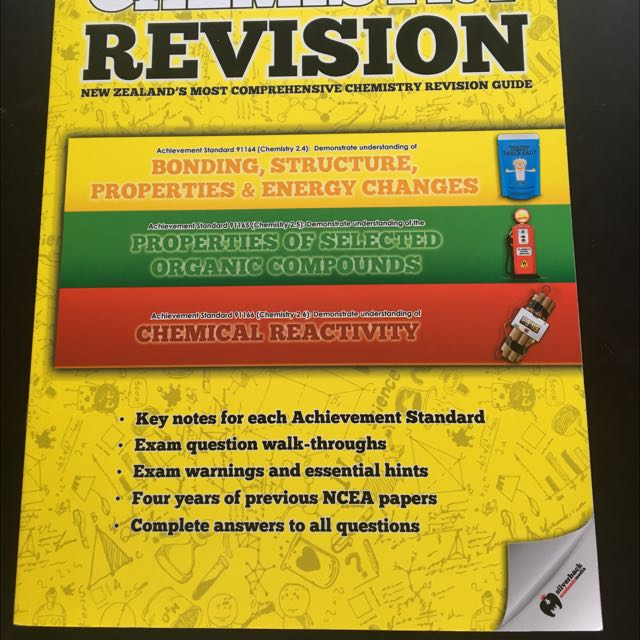 Ncea Level2 Chemistry Revision Book