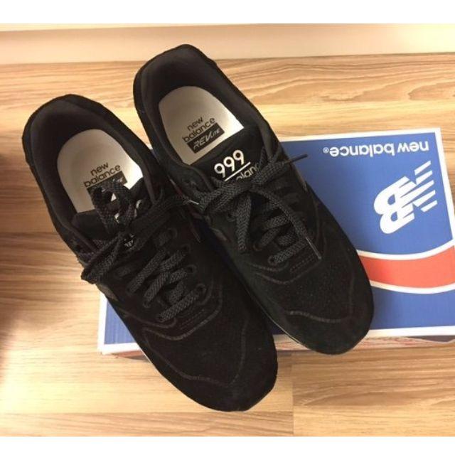 best sneakers 464c9 d5222 New Balance MRL999BA 黑灰麂皮復古 999 996 574 慢跑鞋,誠購可議價
