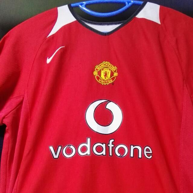 0f1eab3c836 Nike Manchester United Scholes  18 S size