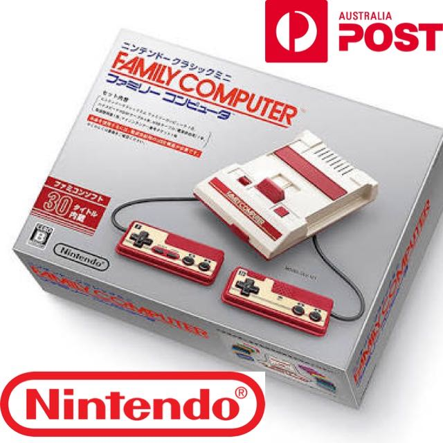 NINTENDO FAMICOM MINI NEW RELEASE 400 GAMES INCLUDED