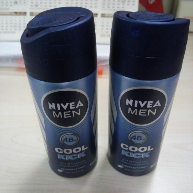 Nivea Men Cool Kick Spray